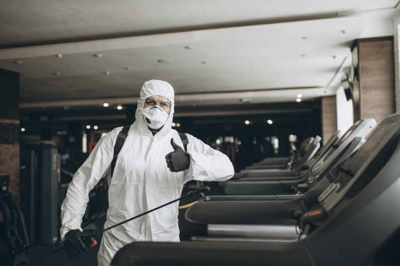 Sanitização de Academias: mantenha seus alunos protegidos contra a ação do coronavírus - Uniprag