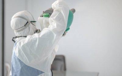 Quando há uma pessoa contaminada em seu escritório, é indicado realizar a sanitização