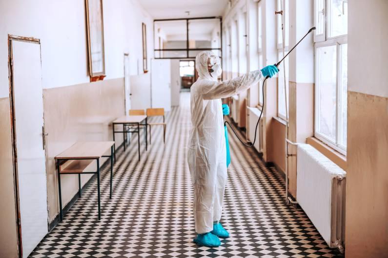 Sanitização de ambientes proporciona uma desinfecção profunda contra vírus e bactérias